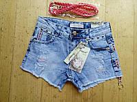 Джынсовые шорты для девочки. Размеры 116,122,134,140,146, фото 1