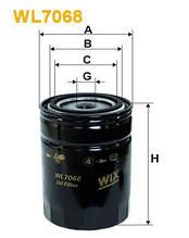 Масляный фильтр   WL7068WIX  на VW/AUDI/SEAT/VOLVO