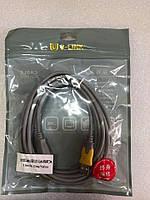 Кабель Удлинитель V-link USB 2.0 AM/AF 3 м