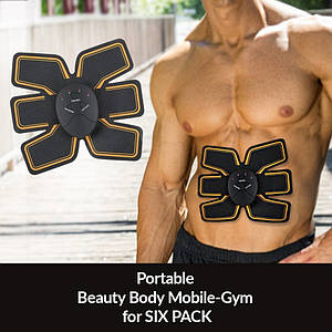 Стимулятор мышц пресса Beauty Body Mobile Gym 6pack EMS,ПОЯС EMS-TRAINER