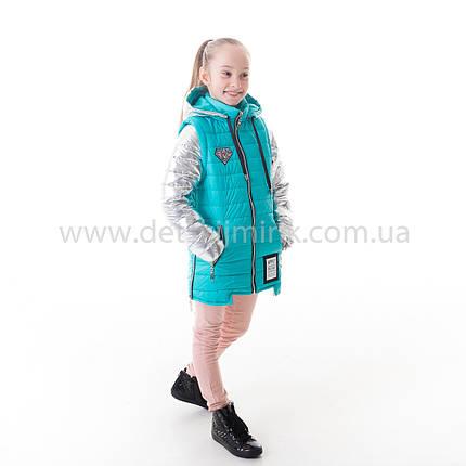 04cd45ddf3f Детская куртка-жилет демисезонная для девочки