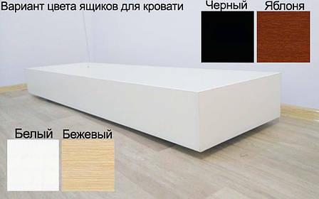 ✅Металлическая кровать Эсм ТМеральда Люкс 140х190 см ТМ Металл-Дизайн, фото 2
