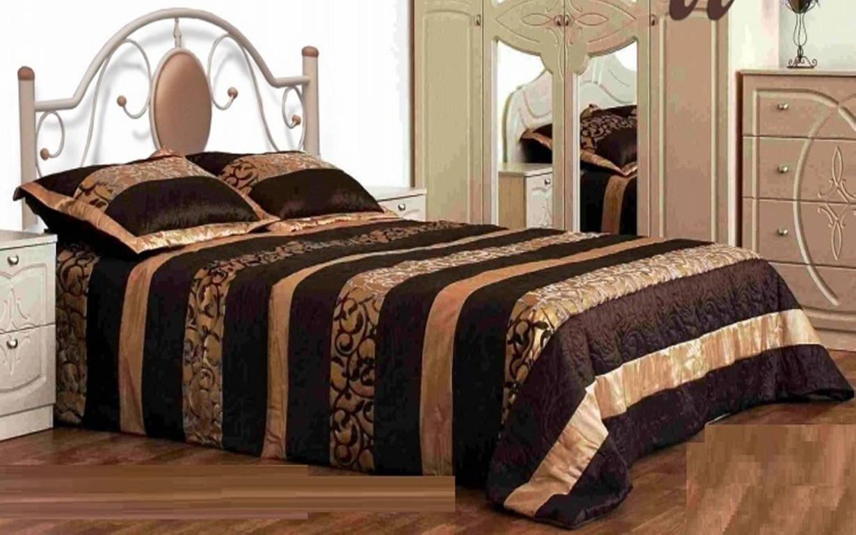 ✅Металлическая кровать Лаура 120х190 см ТМ Металл-Дизайн