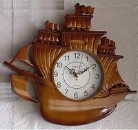 Часы в виде корабля настенные дом/офис Sirius SI-010