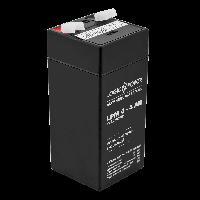 Аккумулятор AGM LogicPower LPM 4-4 AH