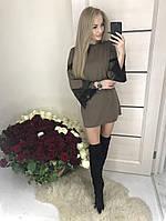 Женское короткое платье туника