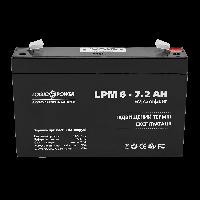 Аккумулятор AGM LogicPower LPM 6-7.2 AH
