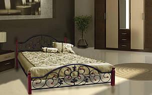 ✅Металлическая кровать Жозефина Вуд 140х190 см ТМ Металл-Дизайн, фото 2