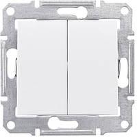 Выключатель 2-й проходной Белый Sedna Schneider, SDN0600121