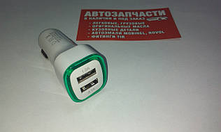 Адаптер под USB на два выхода 1А и 2.1А