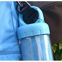 Полотенце охлаждающее для спорта и лета в тубе с карабином R22765