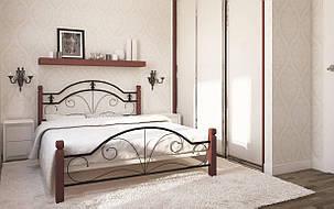 ✅Металева ліжко Діана Вуд 80х190 см ТМ Метал-Дизайн, фото 2