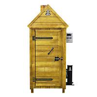 Коптильня холодного копчения  с деревянным шкафом
