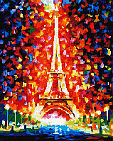 Набор для алмазной мозаики: Эйфелева башня, 40 × 50, GF1626