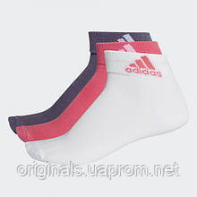 Носки Adidas Ankle 3pp CF7369 - 2018