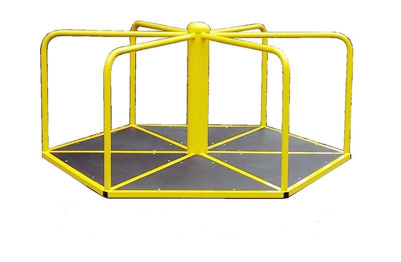 Дитяча Карусель, шестикутна. Для катання стоячи.