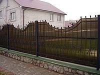Кованый комбинированный забор Киев
