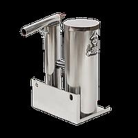 Дымогенератор с охладителем и конденсатосборником 1,5л нержавейка, фото 1