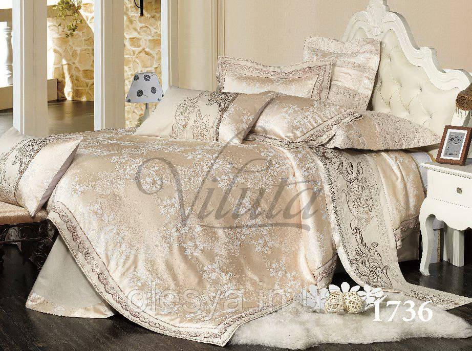 Постельное белье Вилюта сатин жаккард Tiare 1736  продажа 5cc8b87814119