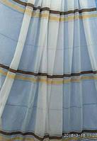 Тюль с горизонтальными полосками Оптом и на метраж Высота 2.8 м, фото 1