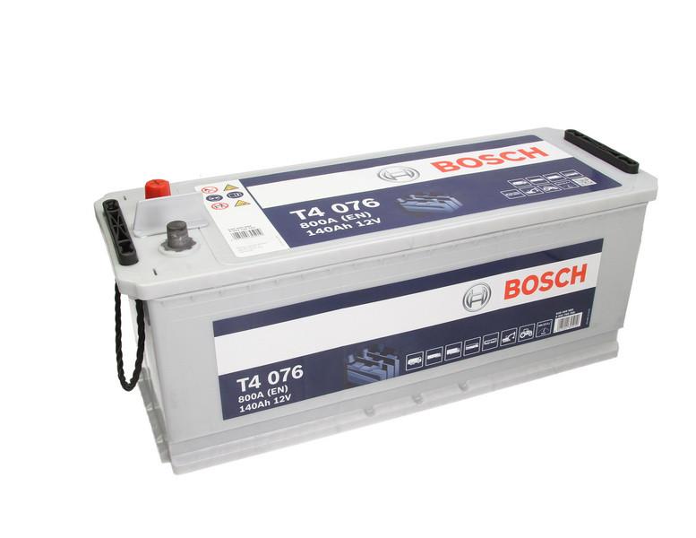 Аккумулятор Bosch T4 140Ah EN800A L+ (T4076)