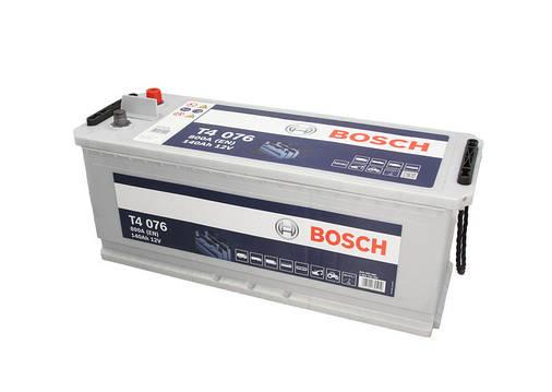 Аккумулятор Bosch T4 140Ah EN800A L+ (T4076), фото 2