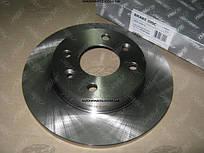 Диск тормозной передний DACIA LOGAN 04- (D=238mm) (RIDER)