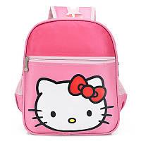 Детский розовый рюкзак Hello Kitty