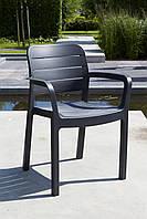 Садовая мебель TISARA столовый ресторанный стул графит, фото 1
