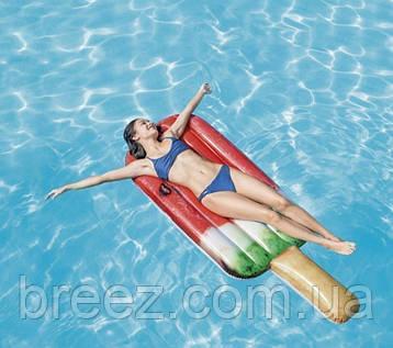 Надувной матрас-плот Intex Арбузное мороженое 191 х 76 см, фото 2