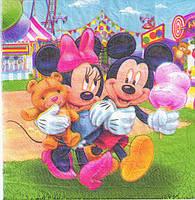 "Салфетки ""Микки и Минни Маус"" 20шт."