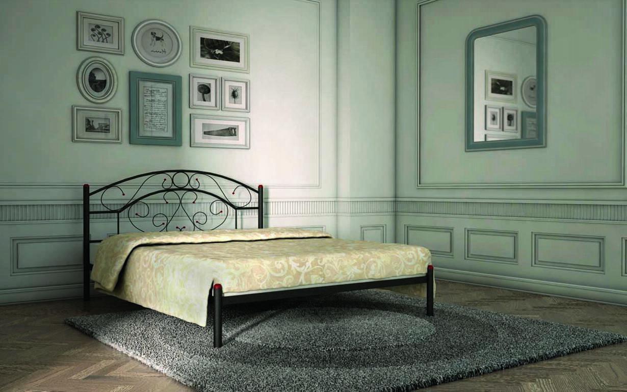 ✅Металлическая кровать Скарлет 120х190 см ТМ Металл-Дизайн
