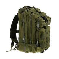 Рюкзак військовий тактичний штурмової Molle Assault 20L Olive B02