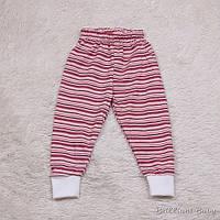 Спортивные штаны трикотажные Кроха (красные)