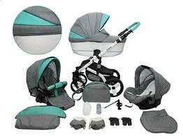 Многофункциональная детская коляска MIKRUS PROMOTION 3в1