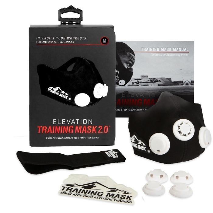 Маска для Тренировки Дыхания Elevation Training Mask 2.0 спорт, бега