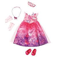 Платье и туфли Deluxe для куклы BABY BORN - Сказочная принцесса***