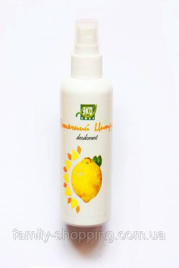 Натуральный дезодорант-спрей «Солнечный цитрус», 100 мл