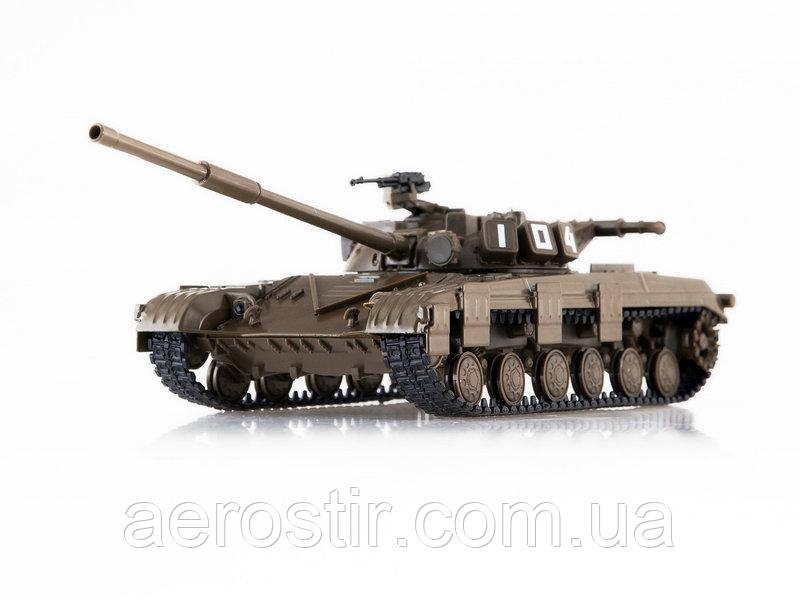Танк Т-64Б 1/43 DeAGOSTINI выпуск 4