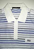 Мужская рубашка поло белого цвета