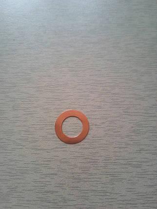 Шайба уплотнительная форсунки медная 178F, фото 2