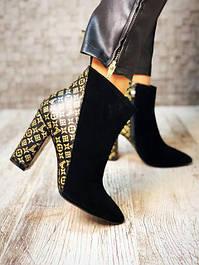 Женские ботинки, ботильоны кожа