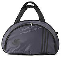 Спортивная женская средняя тканевая сумка art. 139 Украина (102637) серая, фото 1