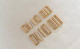 Застёжка бельевая цвет золото арт.25182, цена за упаковку(50шт.)