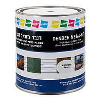 Краска (3в1), по металлу антикоррозионная Denber 0,75л гладкая/молотковая/кованная/матовая