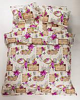 Постельное белье Lotus Ranforce - Romantic малиновое полуторное