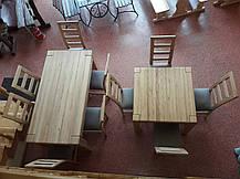"""Набор """"Дубовая роща """"  1,8 м. + 6 стульев, фото 3"""