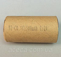 (Банка) Элемент аккумулятора шуруповерта NI-CD SC1500 mAh 1.2 V (22*42 мм)