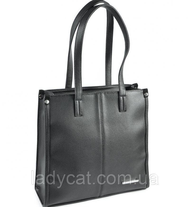 067e75f04c44 Классическая женская сумка черного цвета с кожзама: продажа, цена в ...