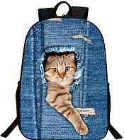 Рюкзак с принтами / изображениями животных